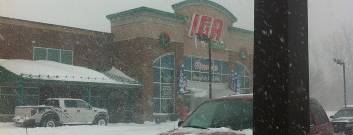 IGA is one of Adieu Montreal, bonjour rive-sud.