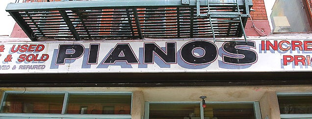 Pianos is one of Friday.