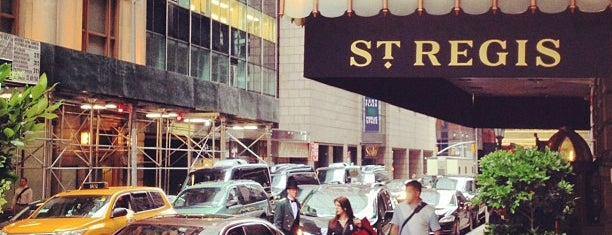 The St. Regis New York is one of NYC Stays.