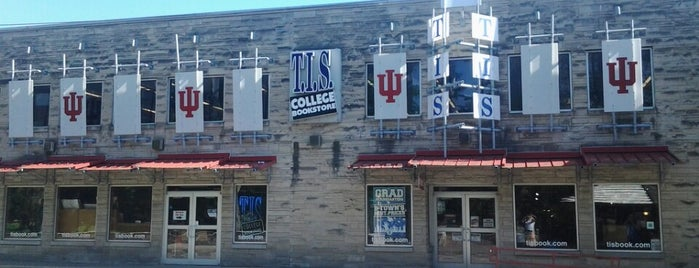 TIS College Bookstore is one of IU Badge.