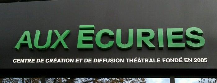 Théâtre Aux Écuries is one of Carte accès Montréal.