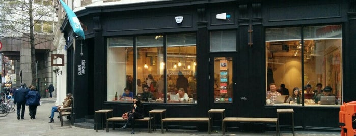 TY Seven Dials - Timberyard is one of Best Coffee Shops in London.