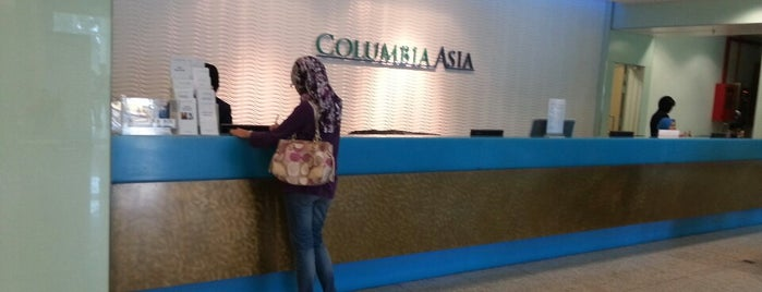 Columbia Asia Hospital is one of Local Services.