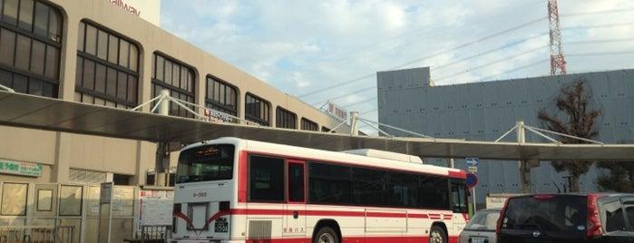 樟葉駅 バス乗り場 is one of etc3.