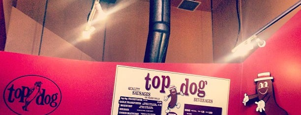 Top Dog is one of Vegetarian Hot Dogs and Sausages.