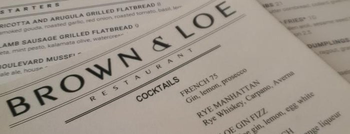 Brown & Loe is one of Want to Try.