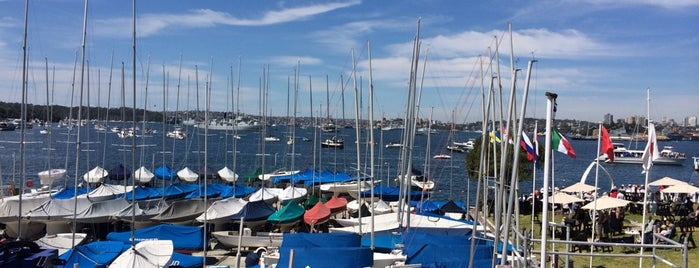 Royal Sydney Yacht Squadron is one of Great Yacht Clubs of the World.