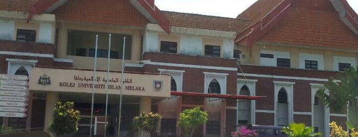 Kolej Universiti Islam Melaka (KUIM) is one of Learning Centers #2.