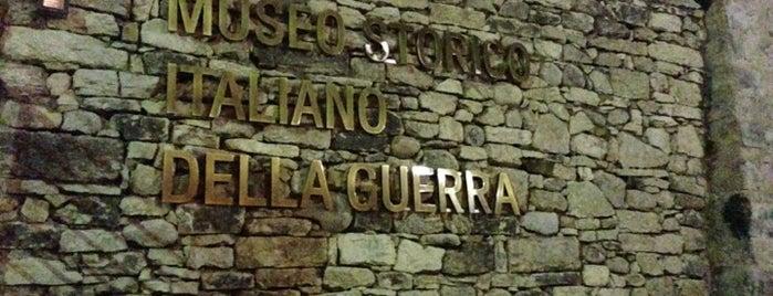 Museo Storico Italiano della Guerra is one of Trentino.