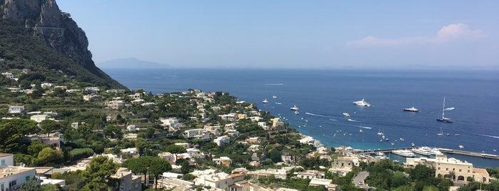Anacapri is one of Amalfi Coast, Italy.