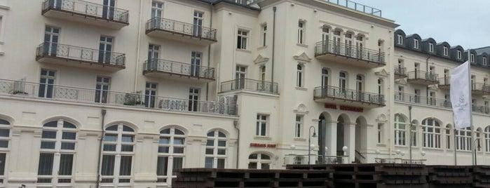 Strandhotel Kurhaus Juist is one of Urlaubskandidaten.