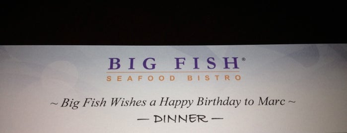 Big Fish Seafood Bistro is one of Restaurants in Pton.