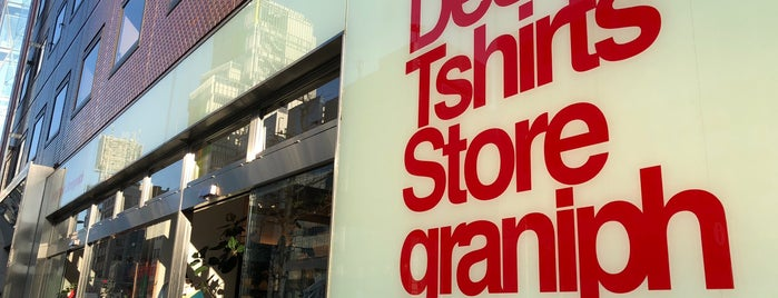 Design Tshirts Store graniph is one of Japan To Do.