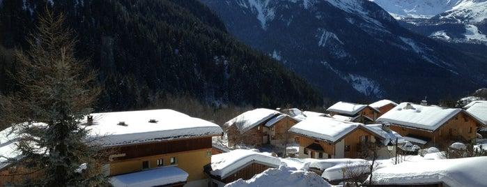 Champagny-en-Vanoise is one of Stations de ski (France - Alpes).