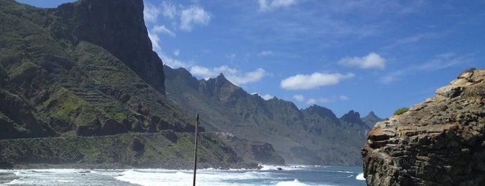 Playa del Roque de las Bodegas is one of Islas Canarias: Tenerife.