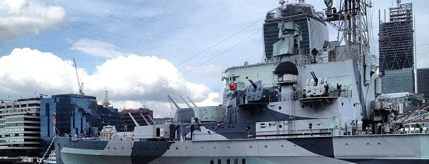 HMS Belfast is one of London - All you need to see!.