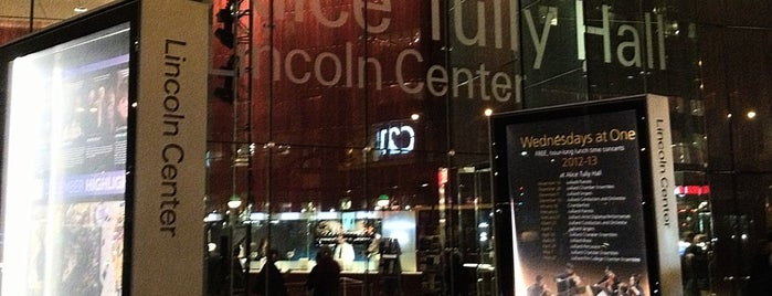 Alice Tully Hall at Lincoln Center is one of Fashion Week NYC 2013 - Lvl 10.