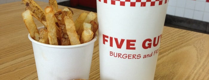 Five Guys is one of A Taste of Long Beach NY.
