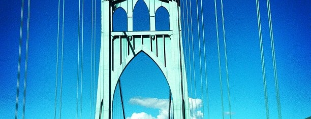 St. Johns Bridge is one of Favorite affordable date spots.