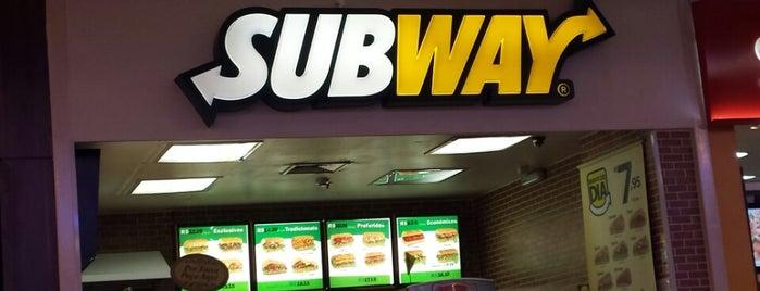 Subway is one of GordaSafada..