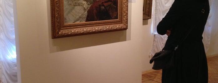 Екатеринбургский музей изобразительных искусств is one of досуг.