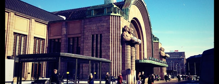VR Helsinki Central Railway Station is one of NYer in Helsinki.