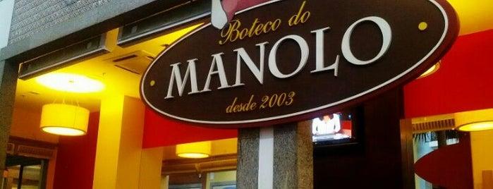 Boteco do Manolo is one of Comida & Diversão RJ.