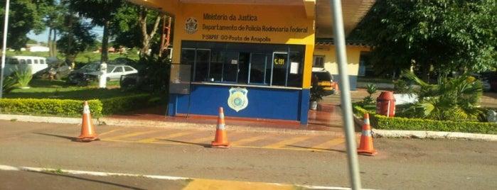 Polícia Rodoviária Federal is one of Lugares....