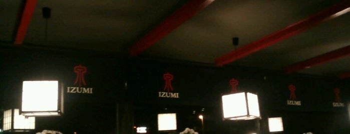 Izumi Sushi & Grill is one of In the city of Amsterdam you can find a lot of fun.