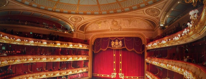 Royal Opera House is one of Bucket List Places.