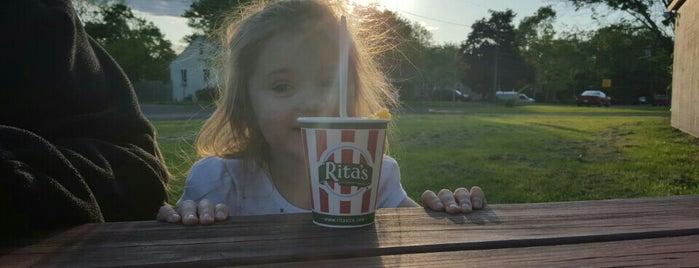 Rita's Italian Ice is one of Favorite Food.