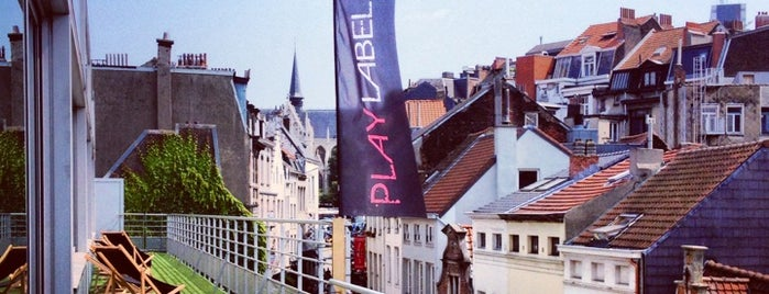 Play Label Rooftop is one of Brussels.