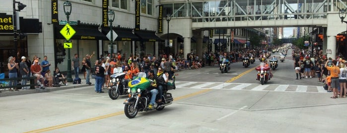 Harley Parade - 110th Anniversary is one of Guide to My Milwaukee's best spots.