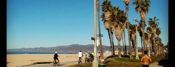 Venice Beach Bike Path is one of Places to check -in to.