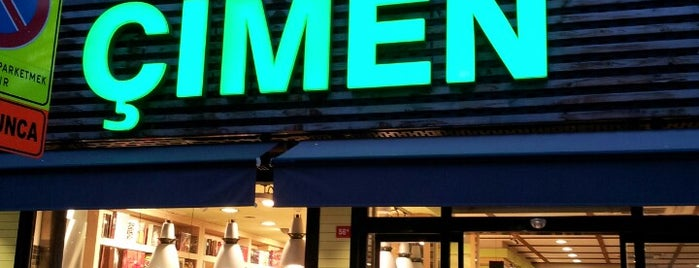 Çimen Pasta & Cafe is one of Istanbul - Cafe&Restaurant.