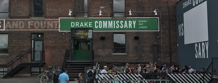 Drake Commissary is one of TO // Brunch.