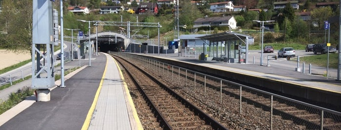 Lier stasjon is one of Toget.