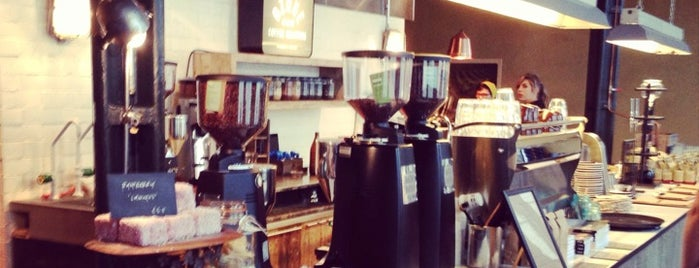 Ozone Coffee Roasters is one of London's Best Coffee.