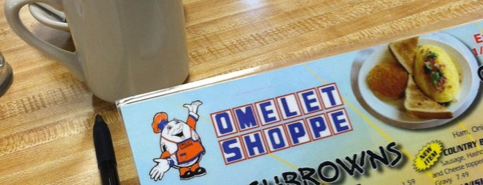 Omelet Shoppe is one of Food.