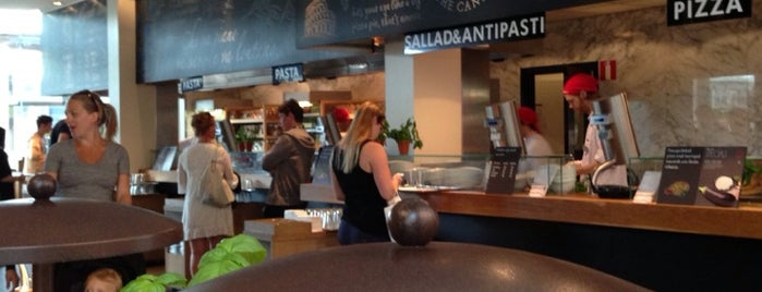 Vapiano is one of All-time favorites in Sweden.