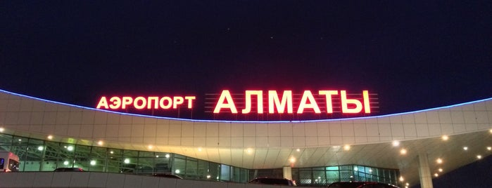 Almaty International Airport (ALA) is one of Airports I visited.