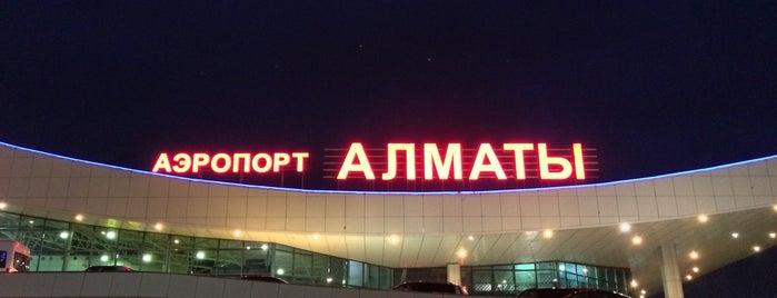 Almaty International Airport (ALA) is one of 에어.