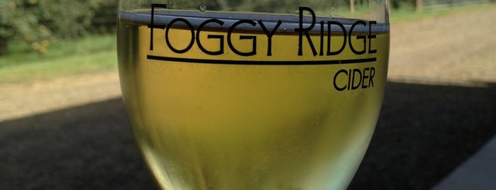 Foggy Ridge Cider is one of Drink!.
