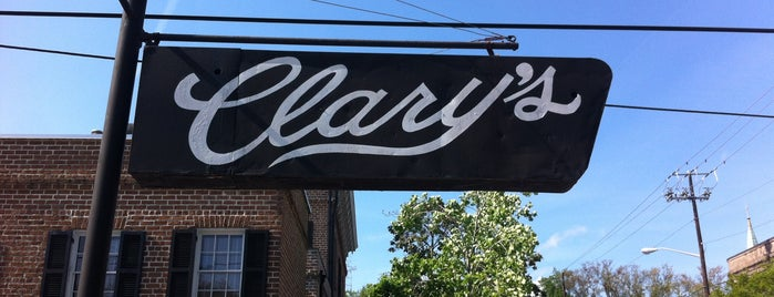 Clary's Cafe is one of Savannah.