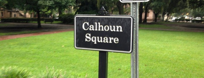 Calhoun Square is one of Savannah.