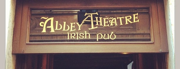Abbey Theatre is one of To Rome with Love.