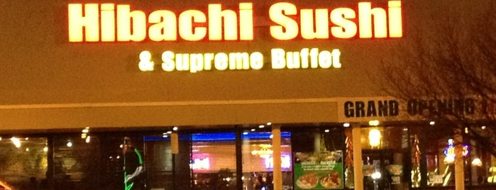 Hibachi Sushi & Supreme Buffet is one of Food.