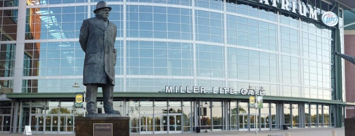 Lambeau Field is one of Kitty list.