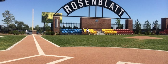 Rosenblatt Memorial is one of Sports Venues I've Worked At.