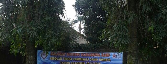 STP Sahid kampus 2 is one of Jakarta.